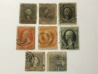 OLD STAMPS USA  X  8