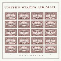 SCOTT 5282 RED AIRMAIL 2018 MINT NH SHEET OF 20 FOREVER STAM