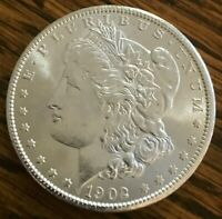 1902 NEW ORLEANS MINTED MORGAN SILVER DOLLAR  COIN90 SILVER