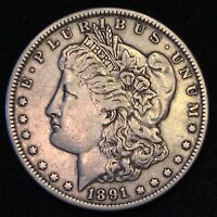 1891 MORGAN DOLLAR