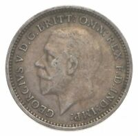 SILVER ROUGHLY SIZE OF DIME 1935 GREAT BRITAIN 3 PENCE WORLD