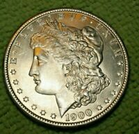 A959,MORGAN SILVER DOLLAR,1900 P VAM 5 BU SELDOM SEEN HIGH GRADE