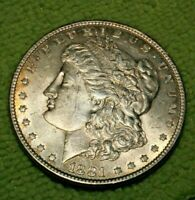 A906,SELDOM SEEN VAM 6 R5 1881 P BU ,MORGAN SILVER DOLLAR,