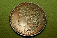 A936,SELDOM SEEN 1890 P VAM 29A,R6 ,MORGAN SILVER DOLLAR,TONED