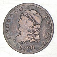 1830 CAPPED BUST HALF DIME   CHARLES COIN COLLECTION  539
