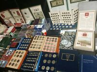 US COIN COLLECTION LOT OLD & NEW 270 POUNDS SILVER SETS ALL