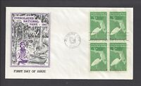 US FIRST DAY COVER FDC   952   3 EVERGLADES NATIONAL PARK