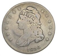 RARE   1836 BUST HALF DOLLAR   GREAT DETAIL   UNITED STATES