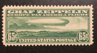 TDSTAMPS: US AIRMAIL STAMPS SCOTTC13 65C MINT NH OG GUM LIGH