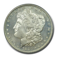 1880-S $1 MORGAN DOLLAR PCGS MINT STATE 66