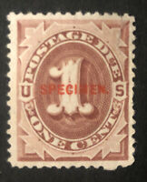 TDSTAMPS: US POSTAGE DUE SCOTTJ15S UNUSED NG TINY THINS LIGH