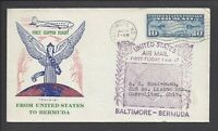 C7 10C AIRMAIL   FIRST CLIPPER FLIGHT PAVOIS CACHET COVER