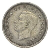 SILVER ROUGHLY SIZE OF DIME 1940 GREAT BRITAIN 3 PENCE WORLD
