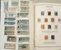 U.S. LIBERTY STAMP ALBUM LOT WITH 1 600 U.S. STAMPS WITH $10