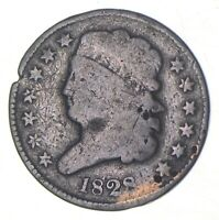 1828 CLASSIC HEAD HALF CENT   CHARLES COIN COLLECTION  358