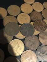 GREAT BRITAIN ONE PENNY LOT 35 COINS HAVE FUN SOME GEMS ZOOM