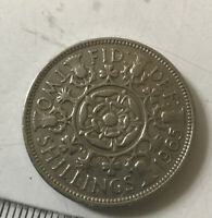 FLORIN. TWO SHILLING COIN. 1965.