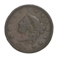 BETTER 1835 YOUNG HEAD   US LARGE CENT PENNY COIN COLLECTION
