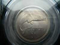 IRELAND TWO SHILLINGS ONE FLORIN COIN 1964