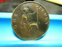 GREAT BRITAIN   1900   PENNY   VF              T 48