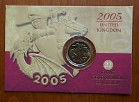 2005 FULL SOVEREIGN   ONE YEAR TYPE   ROYAL MINT PACK