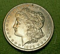 A1143,MORGAN SILVER DOLLAR,SELDOM SEEN VAM 23 1896 P BU