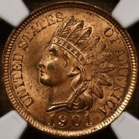 1901 INDIAN CENT NGC MS63 RB LOVELY ORIGINAL COLOR RB? DAVID