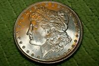 A1111,MORGAN SILVER DOLLAR,SELDOM SEEN HIGH GRADE 1896 P VAM 23 BU
