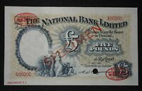 NORTHERN IRELAND  THE NATIONAL BANK LIMITED 5 POUND 1 5 1964