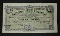 1959 1 ISLE OF MAN LLOYDS BANK LIMITED SERIAL  >>D46673<<  P