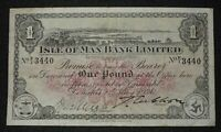 1926 1 ISLE OF MAN BANK LIMITED SERIAL  >>P/1 3440<<  P 4A.1