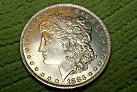 A1310,MORGAN SILVER DOLLAR,HIGH GRADE BU 1883 O VAM 44A