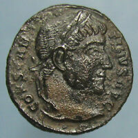 BUDGET PRICED CONSTANTINE I VOT / XX AE 3   HIGH GRADE BUT WITH MARK ON FACE