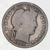 BETTER 1900   US BARBER 90  SILVER HALF DOLLAR COIN COLLECTI