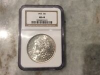 1903 P MORGAN SILVER DOLLAR NGC MINT STATE 64