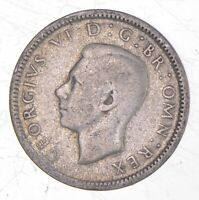 ROUGHLY THE SIZE OF A QUARTER 1943 GREAT BRITAIN 6 PENCE WOR