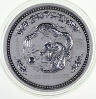BETTER DATE 2000 AUSTRALIA $10.00 10 OZ. SILVER YEAR OF THE