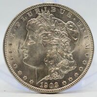 1903-O MORGAN SILVER DOLLAR ANACS MINT STATE 63/65 COIN - NEW ORLEANS MINT - JJ420