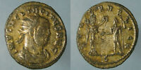 SILVERED TACITUS SPES PVBLICA ANTONINIANUS  FROM CYZICUS   ATTRACTIVE COIN
