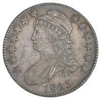 1823 CAPPED BUST HALF DOLLAR - UGLY 3 7545