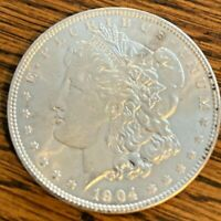 1904-O MORGAN SILVER DOLLAR-90 SILVER-GORGEOUS NEW ORLEANS MORGAN