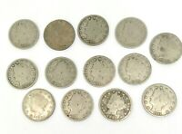 SET OF 13 - US LIBERTY  V NICKELS  U.S. COINS