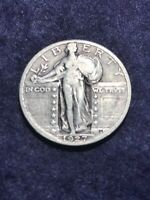 1927 STANDING LIBERTY QUARTER - VF