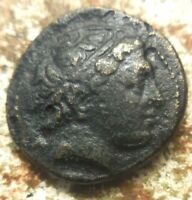 22 MM 7.93 G MACEDON. PHILIP II 359 336 BC. DOUBLE UNIT. APOLLO HORSEMAN