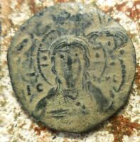 ANONYMOUS FOLLES. NICEPHORUS III CIRCA 1078 1081.  FOLLIS LATIN CROSS