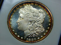 1880-CC $1 MORGAN DOLLAR MINT STATE 65DPL DMPL NGC, OLD FATTY HOLDER GREAT GREAT WOW