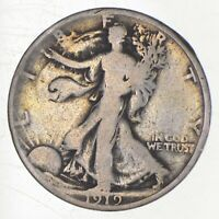 DIFFICULT   50C 1919 WALKING LIBERTY HALF DOLLAR   TOUGH COI