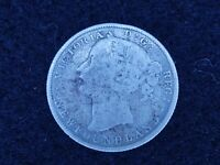 BS 60: CANADA NEW FOUNDLAND SILVER 25 CENTS DATED 1872 H