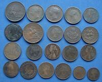 NICE ASSORTED LOT OF 1700'S & 1800'S BRITISH BRITISH COLONI
