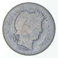 1892 S BARBER DIME   CHARLES COIN COLLECTION  772